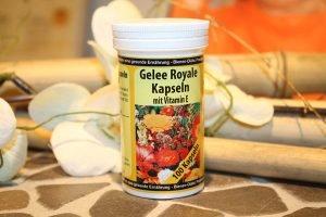 Gelee Royale Kapseln mit Vitamin E